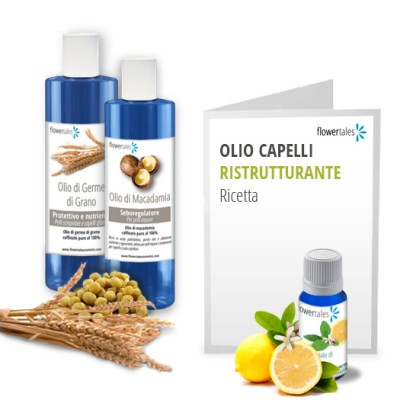 Restructuring hair oil kit